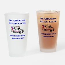 Ambulance Saves Lives-Grandpa Drinking Glass