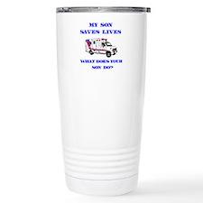 Ambulance Saves Lives-Son Travel Mug