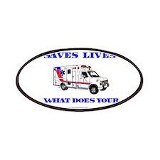 Ambulance Saves Lives-Nephew Patches