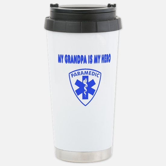 Paramedic Hero-Grandpa Stainless Steel Travel Mug