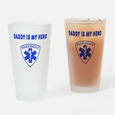 Paramedic Hero-Daddy Drinking Glass