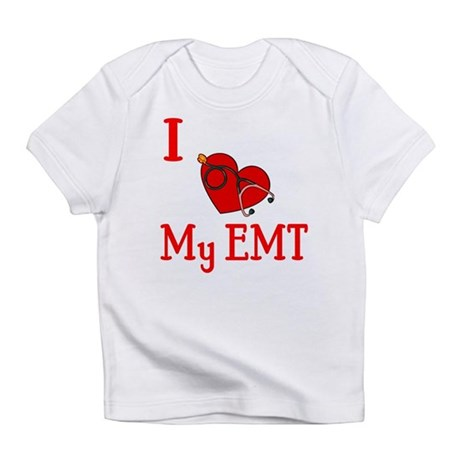 I Love My-EMT Infant T-Shirt