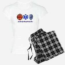 Superhero- Back Design Pajamas