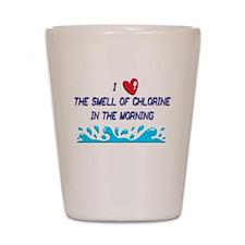 Chlorine in the Morning Shot Glass