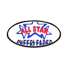 All Star Cheerleader Patches
