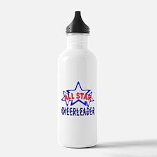 All Star Cheerleader Water Bottle