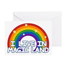 Magic Land Greeting Card