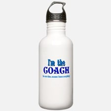 I'm the Coach -Blue Water Bottle