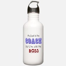 My Dad Is The COACH Water Bottle