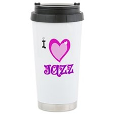 I Love Jazz Travel Mug