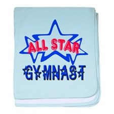 All Star Gymnast baby blanket