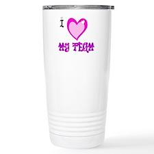 I Love My Team Travel Mug