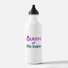 Queen of the beam Water Bottle