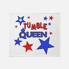 Tumble Queen Throw Blanket