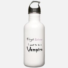 I want to be a Vampire-Baller Water Bottle