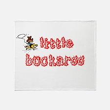 Little Buckaroo Throw Blanket