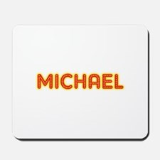 Michael in Movie Lights Mousepad