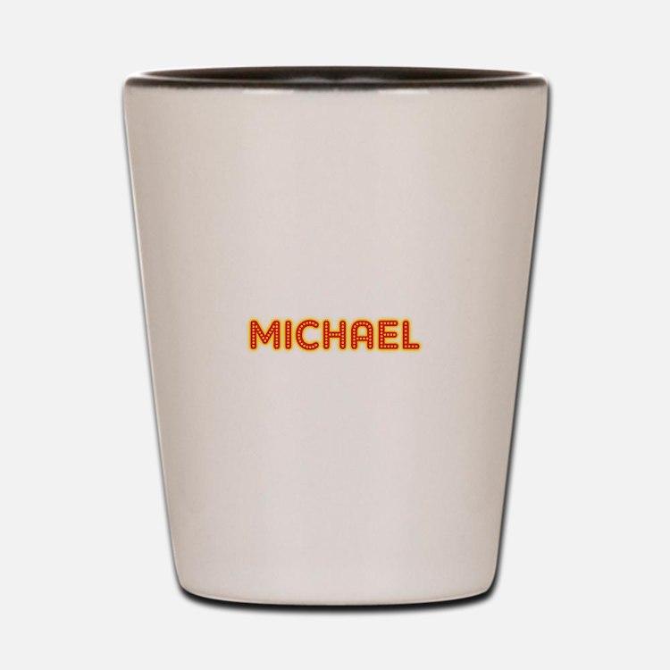 Michael in Movie Lights Shot Glass