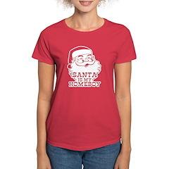 Santa Is My Homeboy Tee