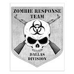 Zombie Response Team: Dallas Small Poster