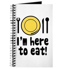 I'm Here to Eat Journal