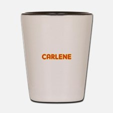 Carlene in Movie Lights Shot Glass