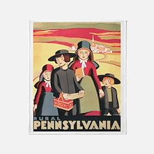 Rural Pennsylvania Throw Blanket