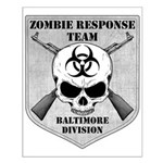 Zombie Response Team: Baltimo Small Poster