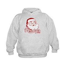 I Believe Santa Hoodie
