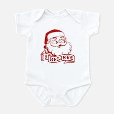 I Believe Santa Infant Bodysuit