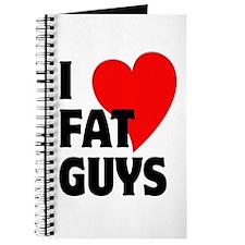 I Love Fat Guys Journal