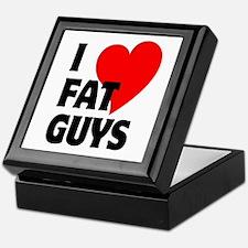 I Love Fat Guys Keepsake Box