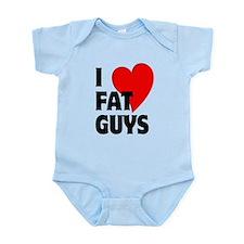 I Love Fat Guys Infant Bodysuit
