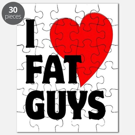 I Love Fat Guys Puzzle