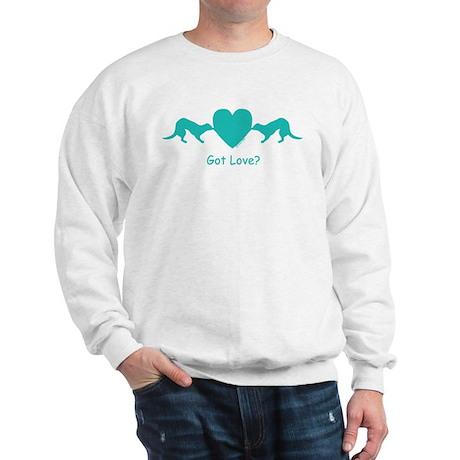Heart Tug blue Sweatshirt