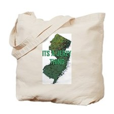 Jersey Thing Tote Bag