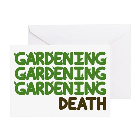 Gardening Greeting Card