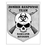 Zombie Response Team: Oakland Small Poster