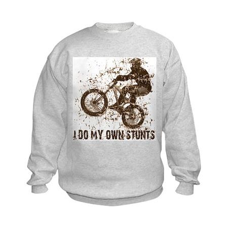 Mountain Bike, BMX - Stunts Kids Sweatshirt