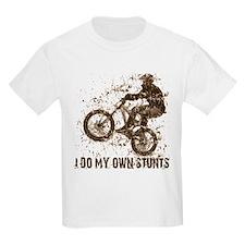 Mountain Bike, BMX - Stunts Kids T-Shirt
