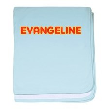 Evangeline in Movie Lights baby blanket