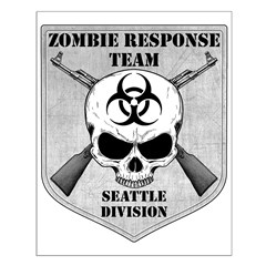 Zombie Response Team: Seattle Posters
