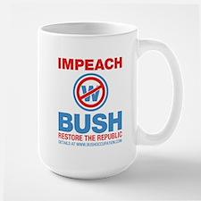 Impeach Large Coffee Mug - we make $3