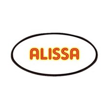 Alissa in Movie Lights Patches