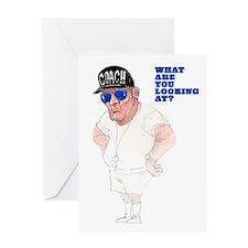 Thanks Coach, You Big Lug! Greeting Card