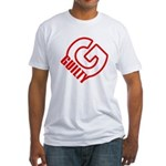KEN LAY FOUND GUILTY Fitted T-Shirt