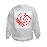 KEN LAY FOUND GUILTY Kids Sweatshirt