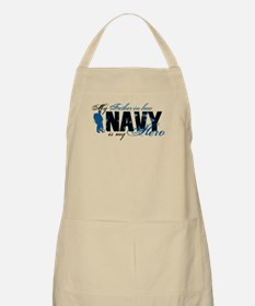 Father Law Hero3 - Navy Apron