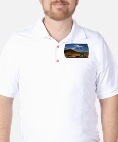 Shasta I-5 Trucking Golf Shirt