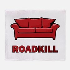 """Roadkill"" Throw Blanket"